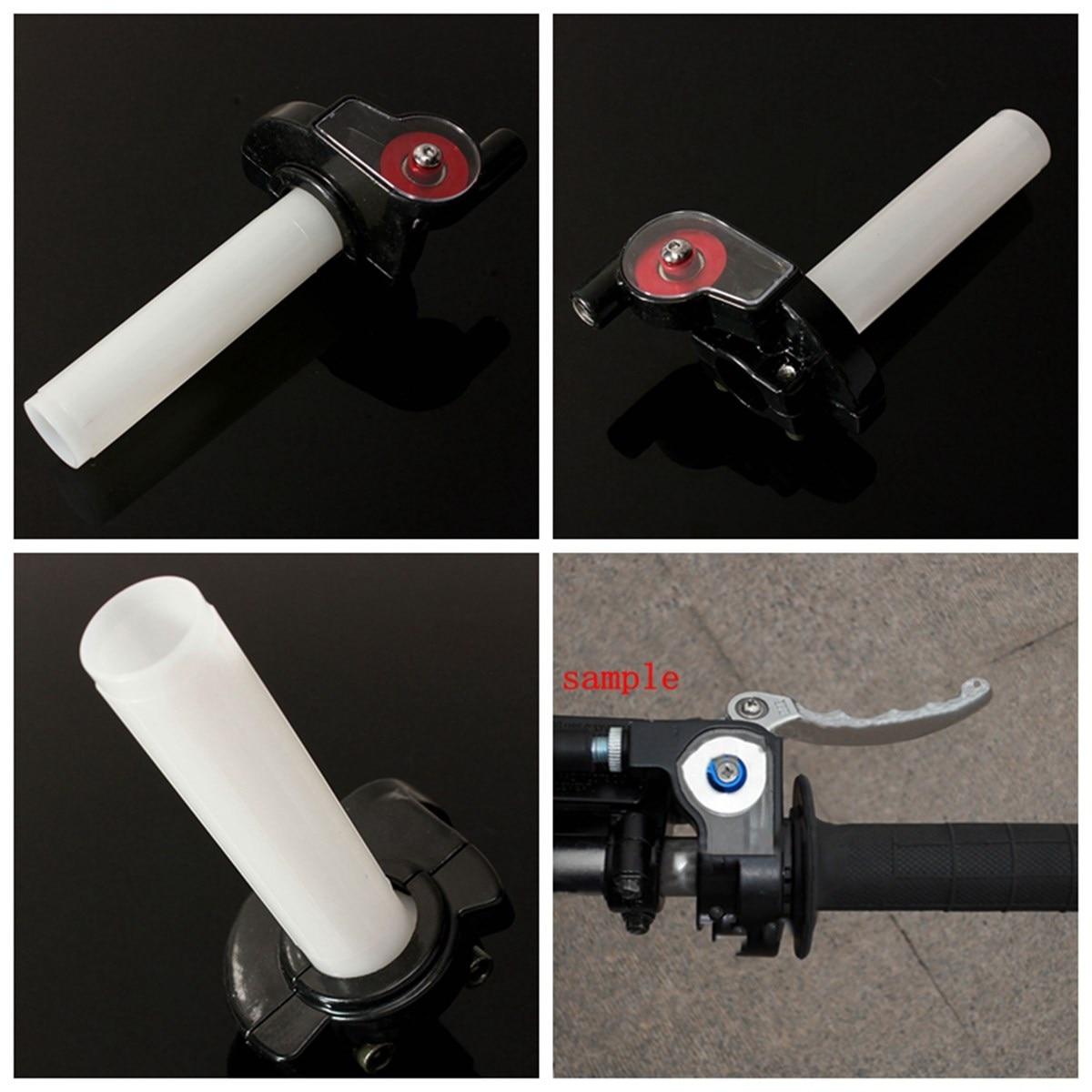 Motorcycle Racing Bike Aluminum Visible Throttle Handle Lever 7/8