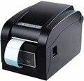 Código Qr etiqueta XP-350B pelado Automático de la impresora impresora de código de barras impresora de etiquetas adhesivas Térmica impresora de etiquetas de ropa