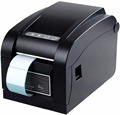 XP-350B Qr code sticker printer Automatic peeling barcode printer Thermal adhesive label printer clothing label printer