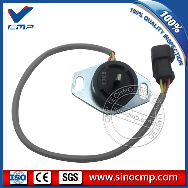 Throttle Locator 7861-93-4131, Fitting Sensor for Komatsu PC-7 Excavator Throttle Locator 7861-93-4131, Fitting Sensor for Komatsu PC-7 Excavator