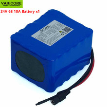 VariCore 24V 10Ah 6S5P 18650 Battery li-ion battery 25.2v 10000mAh Electric bicycle moped /Electric/lithium ion battery pack