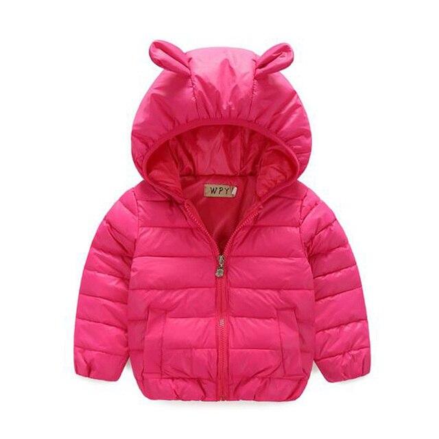 New Girls Coat Children's Winter Jackets Duck Down Girls Winter Parka Rabbit Clothing Kids Winter Outerwear Warm Thick Coat