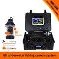 (1 комплект) 30 м кабельная камера с панорамированием системы DVR Функция подводная рыболовная камера вращение на 360 градусов камера 8G карта по...