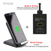 3 Coil Universal Wireless Charger High Efficiency Wireless Charging Receiver Pad Coil For Android Phone Charging
