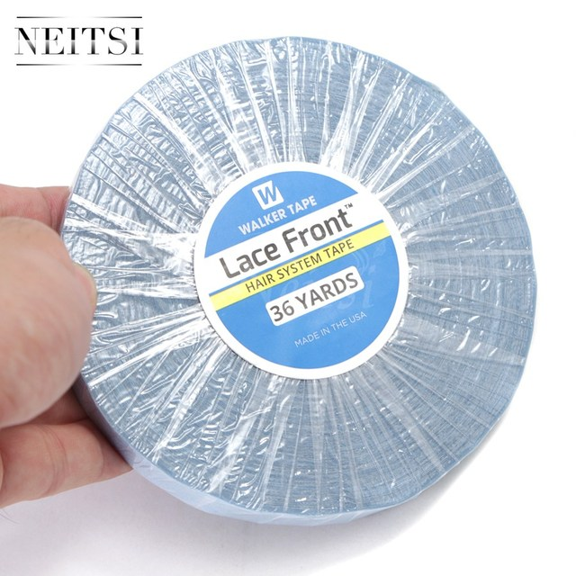 Neitsi Walker Tape Lace Front Hair System US Roll Blue Double Side Adhesive For