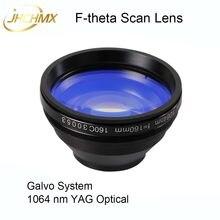 Объектив JHCHMX F-theta, объектив 1064nm Thread M85X1 Scan 50x50-300x300mm FL.63-420 мм для волоконной лазерной маркировочной машины, запчасти