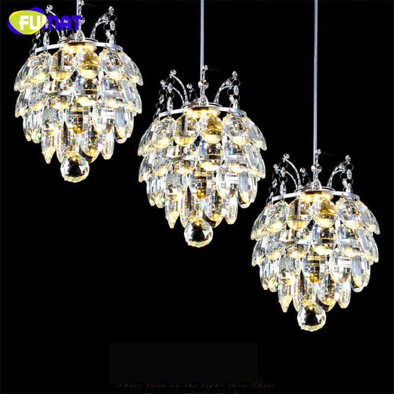 FUMAT K9 Crystal Pendant Lights For Living Room Dining Room Kitchen Crystal Lights Lustre Luxurious Modern Led Crystal Lights modern fashion luxurious rectangle k9 crystal led e14 e12 6 heads pendant light for living room dining room bar deco 2239