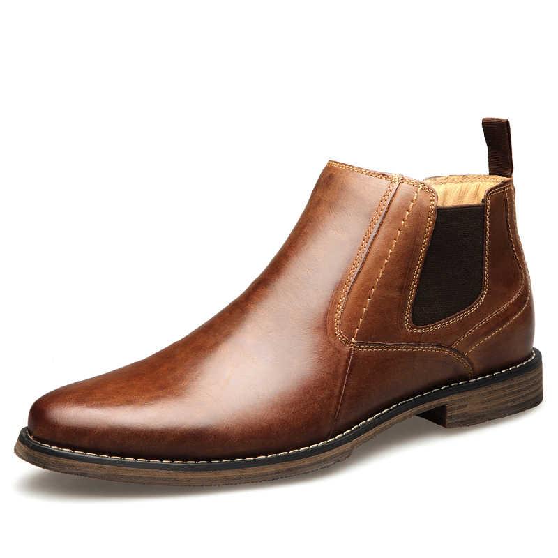 גברים של עור נעלי Blogue גברים אמיתי עור להחליק על נעלי 2019 אופנה מזדמן עיצוב סניקרס למעלה איכות גברים נעל