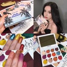 Professional Makeup 12 Colors Glitter Diamond Eyeshadow Palette Shimmer Matte EyeShadow Pallete Warm Pigment Cosmetic
