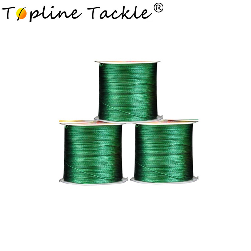Fishing Line Braided 4 Strands Wire Material Multifilament 4X Lines Thread Floating