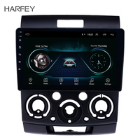 Harfey 9 inch Touchscreen GPS Navigation Radio Android 8.1 for Ford Everest/Ranger 2006 2010 with USB WIFI AUX support Carplay