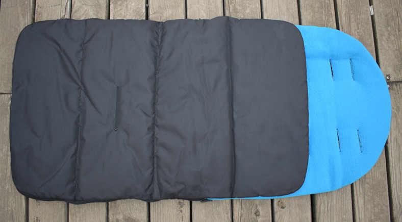 3 en 1 cochecito de bebé de invierno sobre de asiento de coche saco de dormir sacos de silla de ruedas otoño cochecito de cochecito