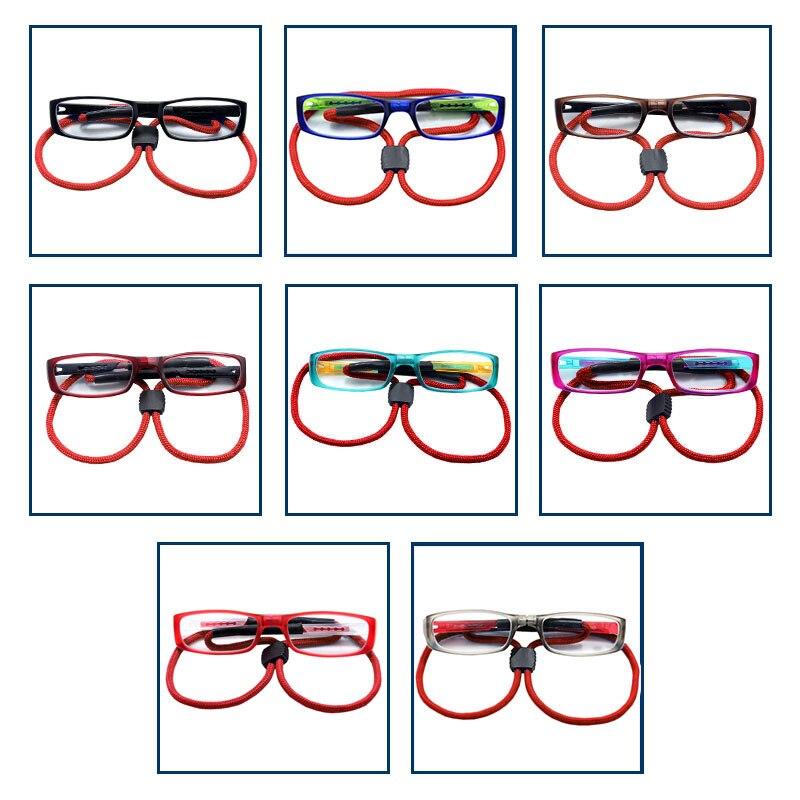 94a999854a Gafas de lectura en caja para hombre y mujer Lentes de vidrio montura de  aleación de