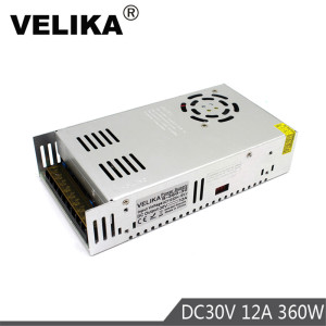 Professional DC30V Power Supply Driver Switch Transformers 220V 110V AC to DC 30V Power Supplies for CNC CCTV Stepper Motors DIY(China)
