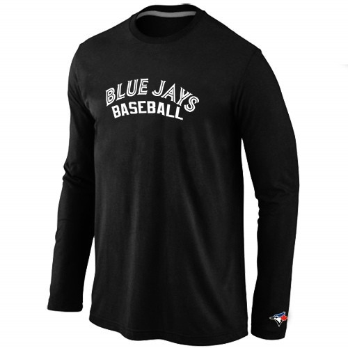 Toronto Blue Jays Long Sleeve T-Shirt Black