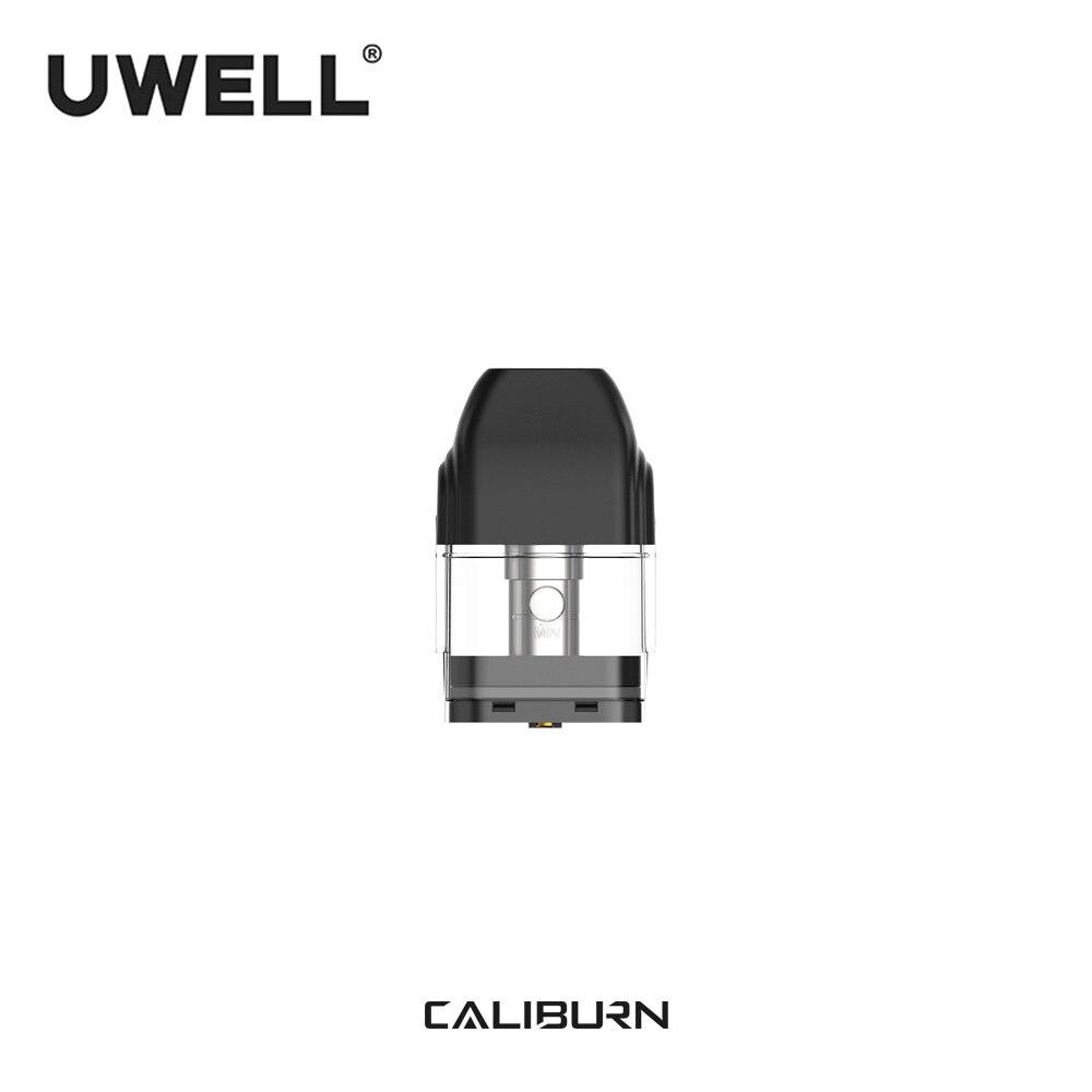 Uwell 5 packs 20 peças no total do cartucho 2ml vape pod de caliburn para kit de cigarro eletrônico vape pod caliburn em estoque!!