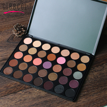 CIBBCCI Make Up For Eyes 35 Color Earth Eyeshadow Palette Professional Matte Shimmer Eye Shadow Cosmetics