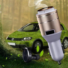 Bluetooth Car Charger Cigarette Lighter 5V 2.4A Wireless Earphone Headphones headphone For iphone 6 6s 6 s 7 7 Plus