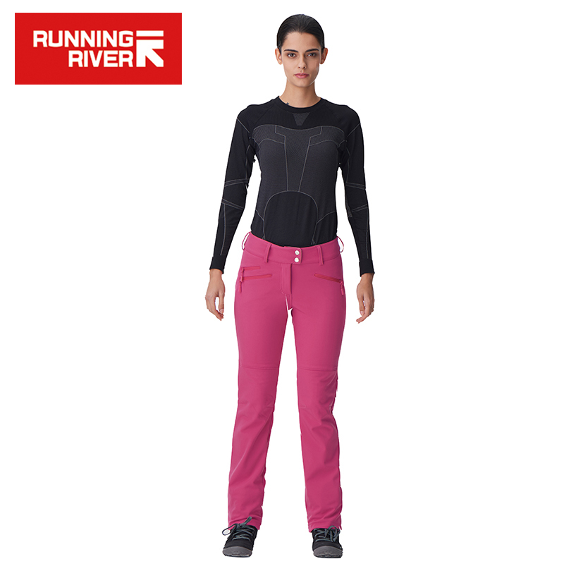 RUNNING RIVER Brand 2017 Pants for Women Zipper Fly 4 Colors 6 Sizes Outdoor Sports Pants High Quality Pants #P4453 zipper fly pleat distressed biker pants