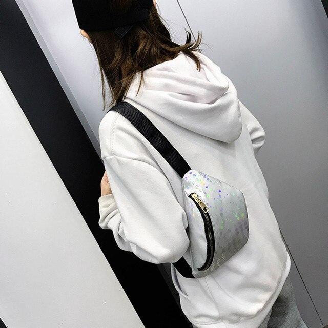 MUQGEW Saco Cinto de Couro À Prova D' Água Mulheres Ao Ar Livre Saco Da Cintura No Peito Com Zíper Viajar Montanhismo Saco de Dinheiro Móvel #0521