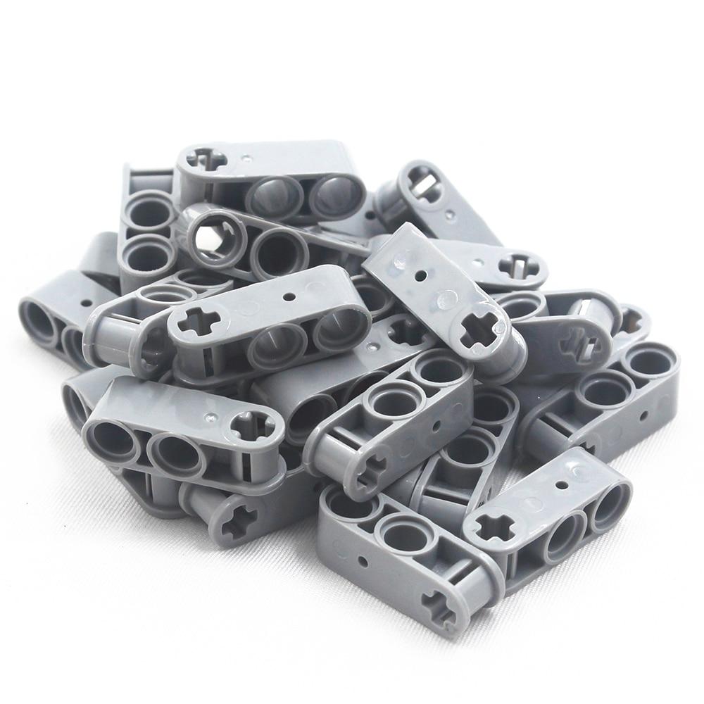 Self-Locking Bricks Building Blocks MOC Technic Parts 20pcs Technic CROSS BLOK 3M Compatible With Lego For Kids Boys Toy