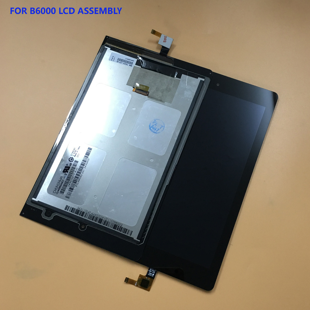 For Lenovo Yoga Tablet 8 B6000 Full Touch Screen Digitizer Panel Glass Sensor + LCD Display Panel Monitor Module Assembly new 8 inch for lenovo yoga 8 b6000 digitizer touch screen glass sensor lcd display panel monitor tablet pc protection
