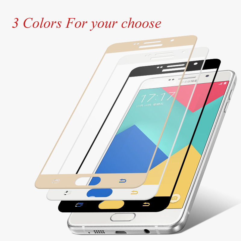 Dreamysow Tempered Glass For Samsung Galaxy J3 J5 J7 J530 J330 J730 A5 A7 A3 2017/6 A6 A8 2018 Full Cover Screen Protector Film