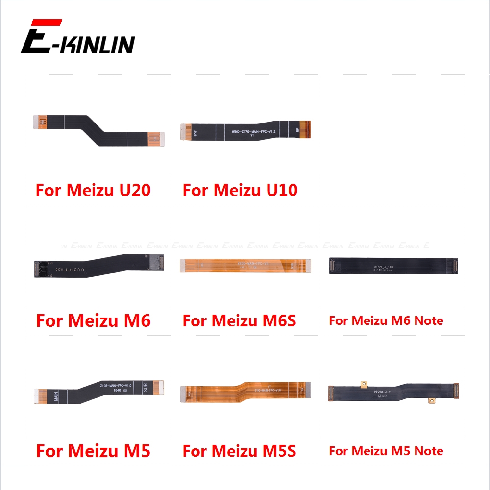 100% New Main Board Motherboard Connection Flex Cable For Meizu U20 U10 M6S M6 M5S M5 Note
