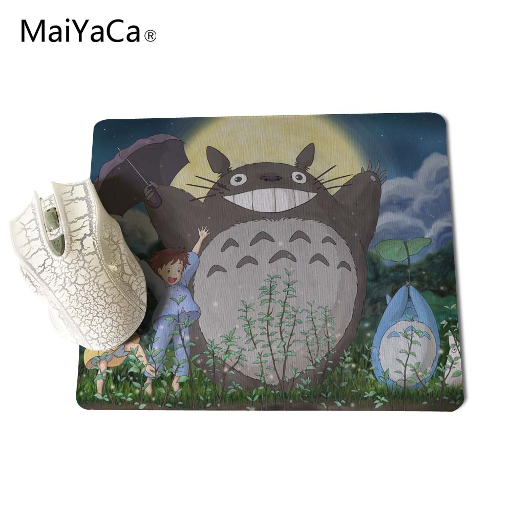 Maiyaca My Neighbour Totoro Totoro Anime Umbrellas Wallpaper New Anti-slip Mouse Pad Pc Game Gaming Mouse Pad Mouse & Keyboards