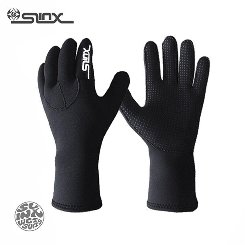 SLINX 3mm neoprénové potápěčské rukavice Šnorchlování Muži - Vodní sporty