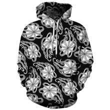 2019 Unisex Women Men Galaxy Animal 3D Digital Print Pullover Hoodie Hooded Fleece Sweatshirt LYM029-038