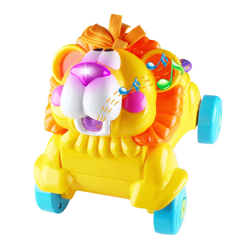 Musical Stride To Ride Lion Baby First Ride On Learning Walker Up To 36 Months
