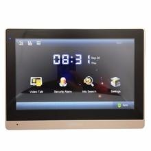 Ahua Multi-Язык VTH1660CH 10-дюймовый сенсорный крытый монитор, IP звонок, видео-домофон, проводной дверной звонок