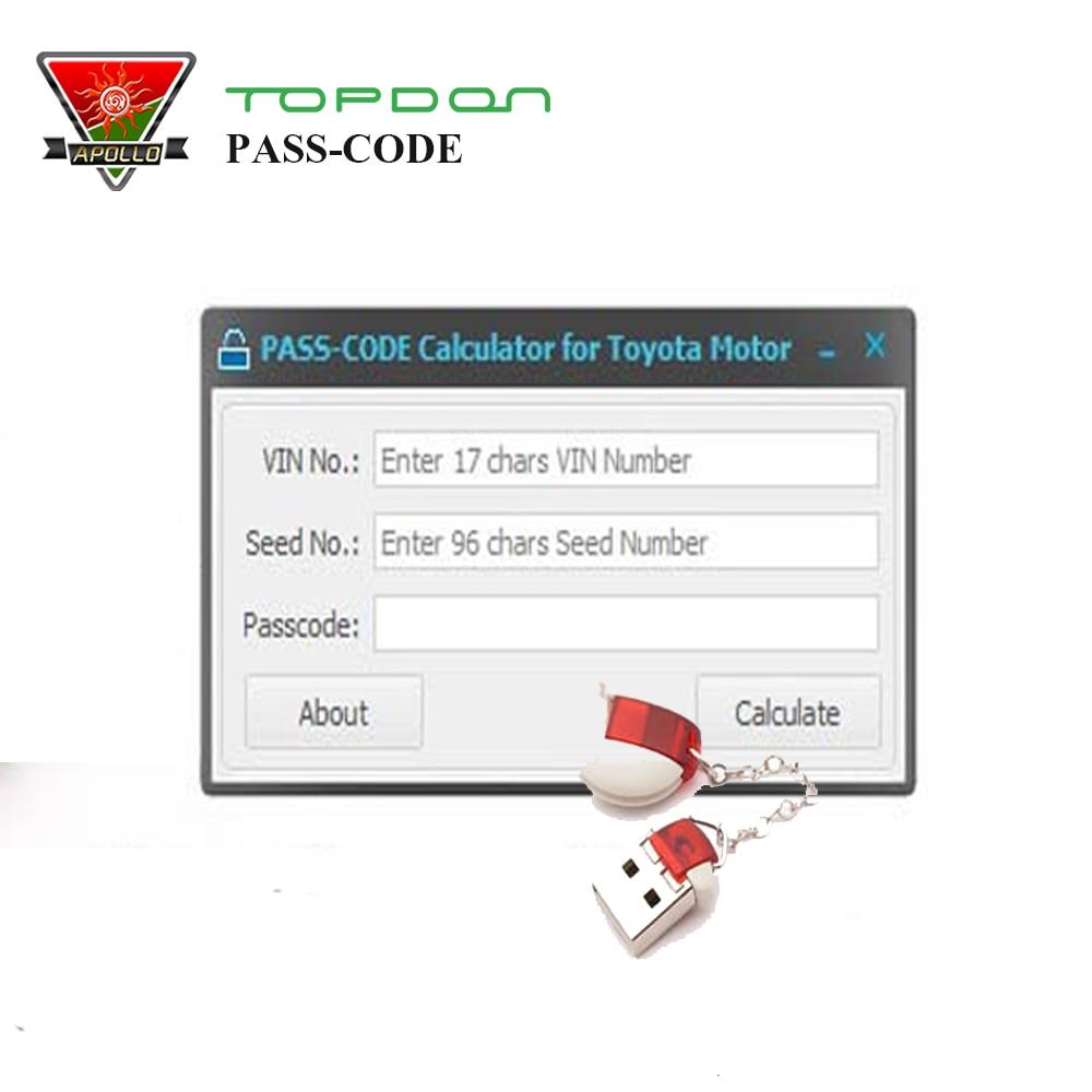 Dernière Version calculatrice de CODE d'accès Scion programmeur de clé automatique outil de CODE d'accès de développement Original