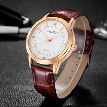 WLISTH Brand Luxury Lover Watches Quartz Calendar Dress Women Men Watch Leather Couples Wristwatch Relojes Hombre 2019 With Box