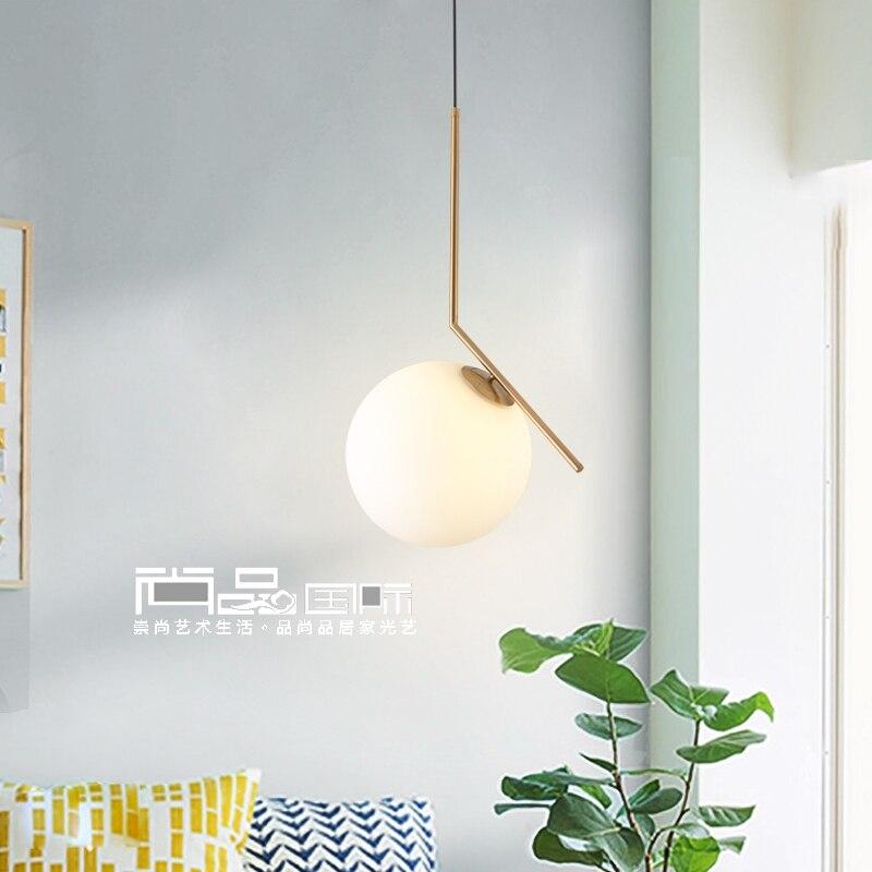 LED Postmodern Nordic Iron Glass Bubbles Designer LED Pendant Lights For Dinning Room kitchen Restaurant Suspension Luminaire|Pendant Lights| |  - title=
