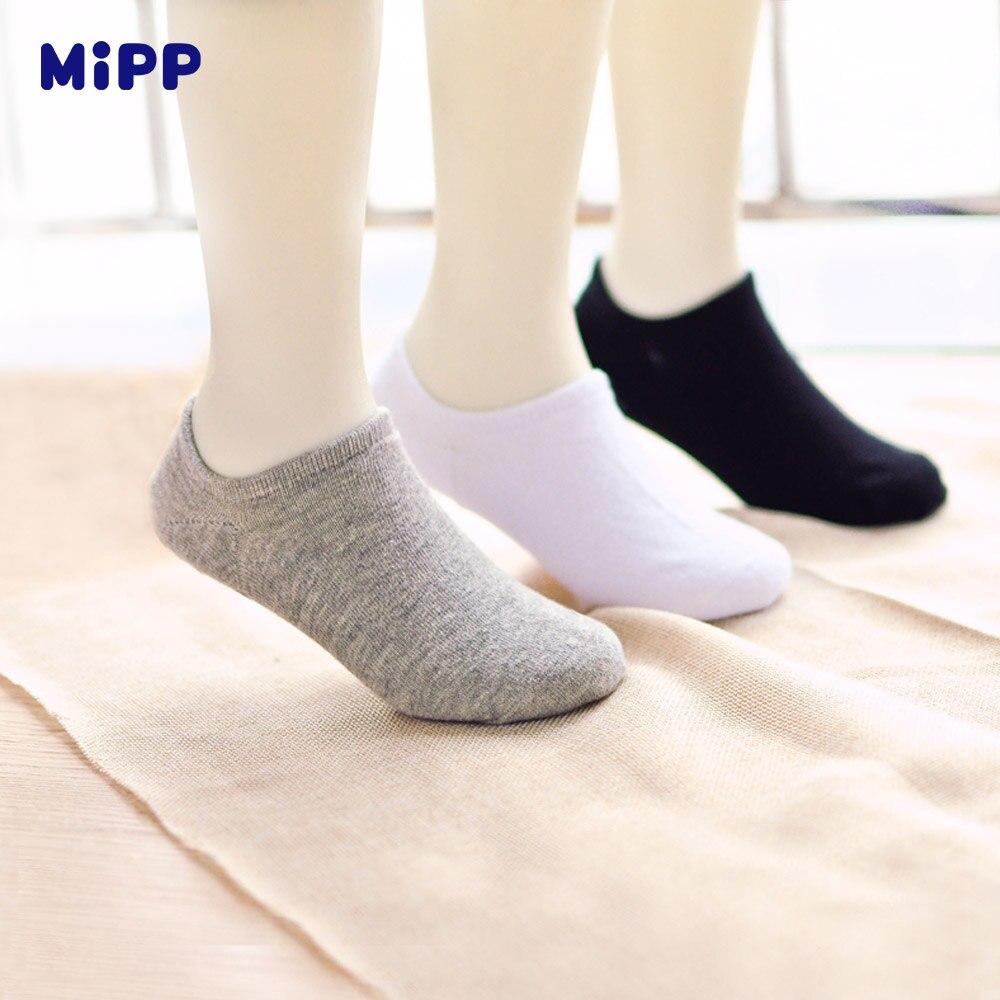 6 пар/лот новый высокого качества детская одежда из хлопка невидимые силиконовые Нескользящие носки для девочек мужчин Носки женщин Носки ...