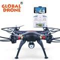НОВОЕ Поступление Лучших Оборудованная GW180 Оригинальный RC Drone Дистанционного Управления 2.4 Г 6 Ось Четырехъядерный Вертолет Может Прийти с 2.0MP HD Камера, FPV Камеры