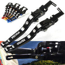 Motorcycle Adjustable Brake Clutch Levers For Yamaha FZ1 FAZER 2001-2005 YZF R1 R6 1999-2004 R 6 S CANADA USA VERSION 2006-2009(China)