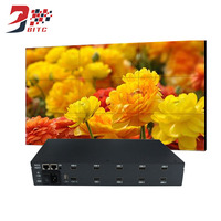 Video Wall Control 2x2 2x3 3x3 HDMI AV USB RS232 LCD Image Processor Screen Splicing 180 Degree Rotation With Remote Control