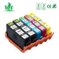 5 PCS 902XL for HP902 902 Compatible Ink Cartridges for HP Printers Officejet Pro 6950 6958 6954 6960 6962 PRINTER