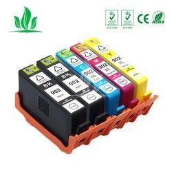 5 PCS 902XL per HP902 902 Cartucce di Inchiostro Compatibili per Stampanti HP Officejet Pro 6950 6958 6954 6960 6962 STAMPANTE