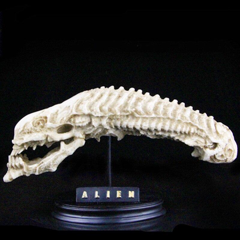Alien vs Predator GK Alien Skull BUSTO Figura AVP Decorazioni Per La Casa In Resina Action Figure Collection Model Toy L2540
