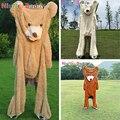 Niuniu papá 80 cm a 260 cm gigante oso de peluche de la piel americano oso de peluche de juguete de EE. UU. oso de peluche de piel de oso de peluche pieles
