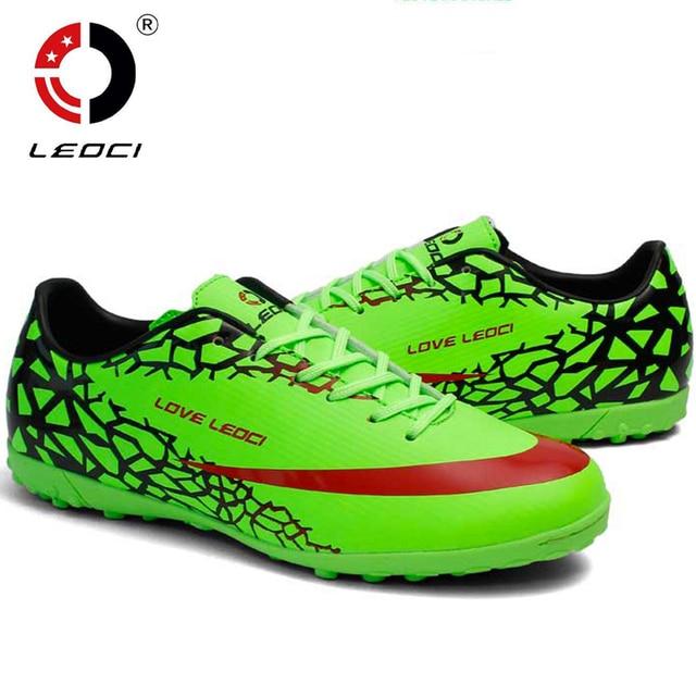 TF Football Boots Cleats soccer indoor shoes mens football shoe boot  botines zapatos futbol hombre voetbalschoenen women   Kids 65ed34891e5b6