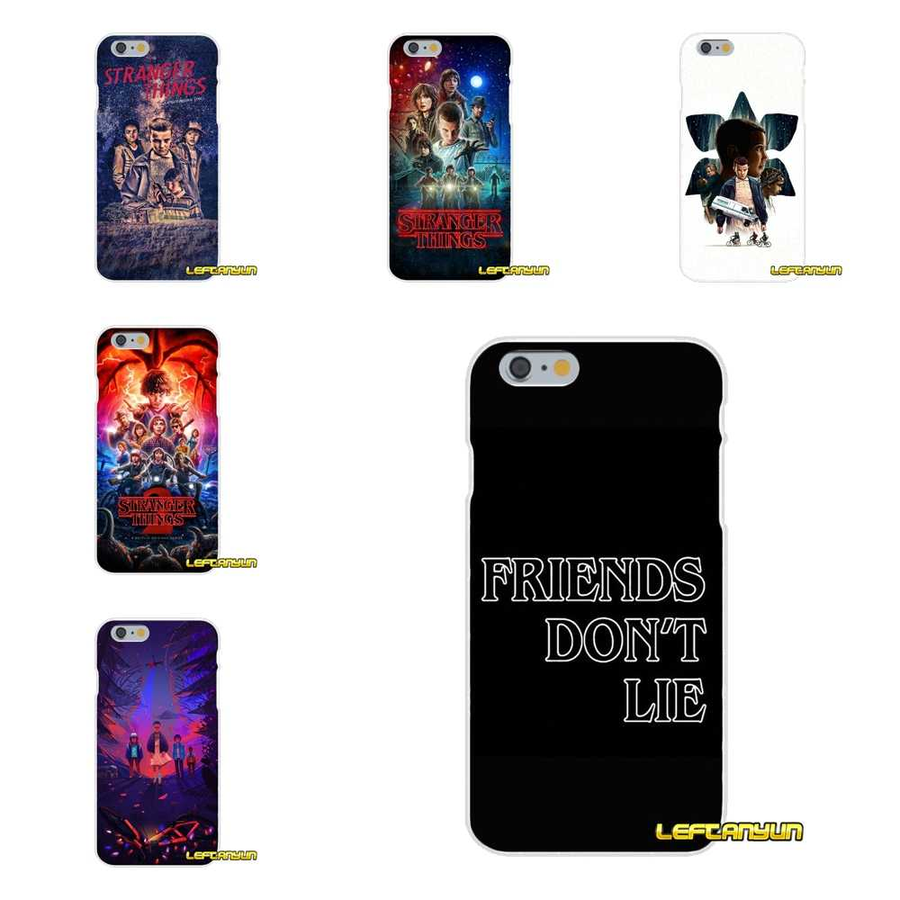 Accessories Phone Shell Covers Stranger Things tv series For Huawei P8 P9 P10 Lite 2017 Honor 4C 5X 5C 6X Mate 7 8 9 10 Pro
