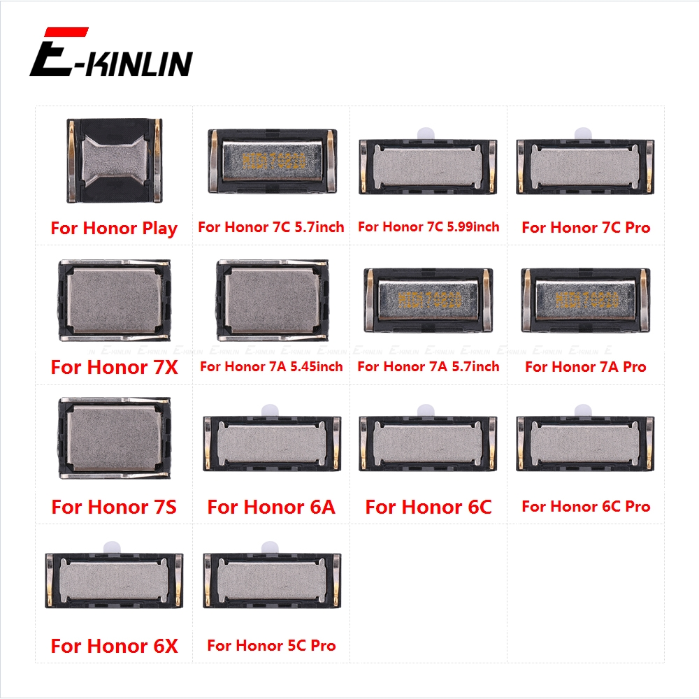 Top Ear Speaker Receiver Earpieces For HuaWei Honor Play 7C 7A 7S 7X 6A 6X 6C 5C Pro Replacement Parts