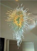 Италия Дизайн Мурано Стекло огонь и лед галерея Книги по искусству люстра LED люстра светильник