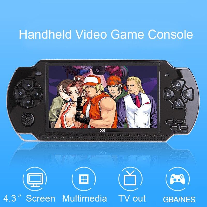 Handheld Video Console di Gioco per PSP Retro Game 4.3 pollice Dello Schermo Mp4 Lettore MP5 Giocatore del Gioco di Sostegno Della Macchina Fotografica, video, E-Book