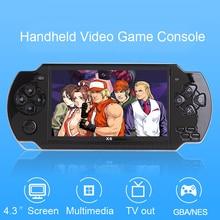 Игровая консоль для видеоигр X6, игра для psp, портативная ретро-игра, 4,3 дюймов, экран, Mp4 плеер, игровой плеер, поддержка камеры, видео, электронная книга